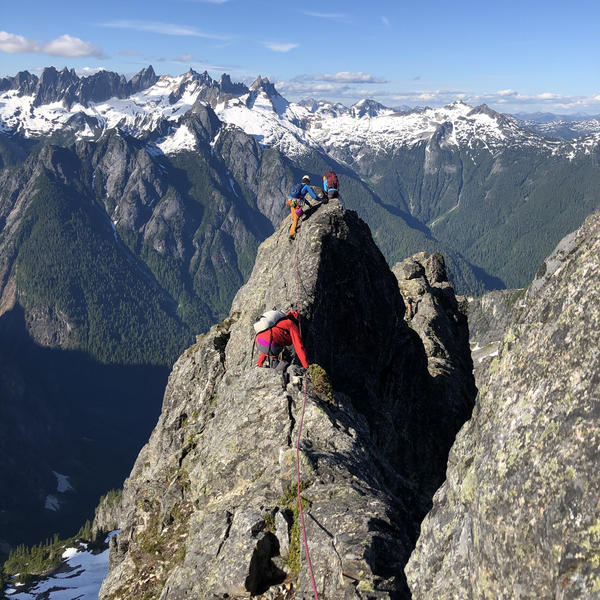 Mt Triumph, NE Ridge (5.7), North Cascades